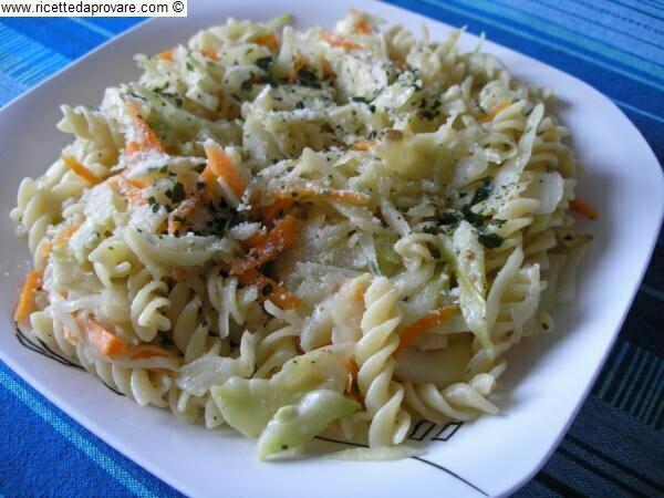 Eliche al cavolo bianco con cumino un primo piatto for Ricette esotiche